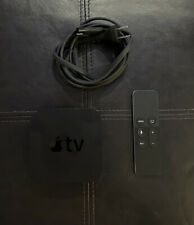 Apple TV HD - GREAT CONDITION - 4th Generation - 32GB - Black - A1625