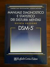 DSM -5 (MANUALE STATISTICO E DIAGNOSTICO DEI DISTURBI MENTALI) IN PDF