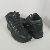 Nike ACG Mens Air Kinesava Mid Hiking Trail Boots Brown 185099 Lace US Size 11.5