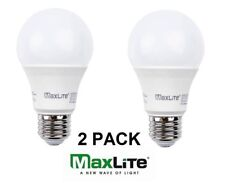 Maxlite - 11 Watt Omnidirectional LED A19 Dimmable 3000K 11A19DLED30/G5 2 PACK w