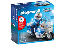 Playmobil  6923 MOTO DE POLICIA CON LED - POLICE BIKE WITH LED LIGHT