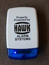 Dummy House Alarm Box Blue Flashing LEDs - House Alarm Box With 2 Flashing LEDs