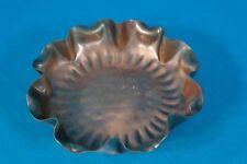 "Gregorian Handkerchief Edge Solid copper Bowl 5"""
