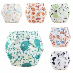 1PC Diaper Pants Baby Nappies Toddlers Kids Potty Training Pull-up Pants Cartoon