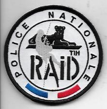 FRANCE RAID TIH POLICE PATCH