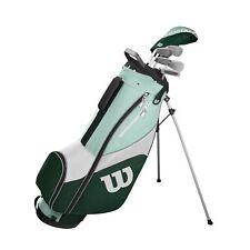Damen Wilson ProStaff SGI Golf Halbsatz 2019 Eisen 5,7,9,SW Holz 5 Putter Bag