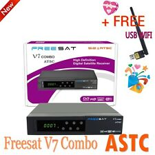 Freesat V7 DVB-S2 ATSC 1080P HD Free To Air Satellite Receiver Digital+USB WIFI