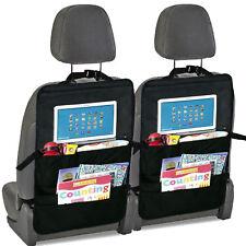 Car Back Seat Organiser & Back Seat Tablet, iPad, Galaxy & DVD Holder x 2