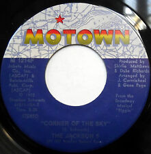 The JACKSON 5 45 Corner of the Sky / To Know MOTOWN label SOUL POP 1972 PIPPIN