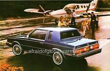Old Print.  1984 Chrysler LeBaron 2-Door Coupe Automobile Advertisment
