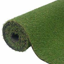vidaXL Artificial Grass 1x15m/20-25mm Green Synthetic Lawn Turf Mat Garden