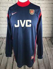 Arsenal Football Shirt Size Medium Nike GK Kit Original 1996 Goalkeeper Vintage