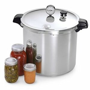 Heavy Duty 23-Quart Pressure Cooker CANNER X- Large Size Big Solid Canning Pot