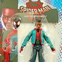 MILES MORALES Into the Spider-verse Marvel Legends no Stilt-man BAF -SHIPS FAST!
