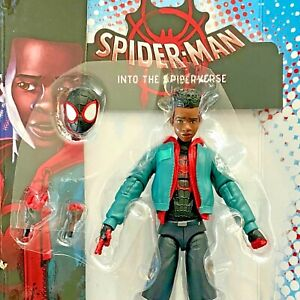 MILES MORALES Into the Spider-verse Marvel Legends no Stilt-man BAF -SHIPS FAST!