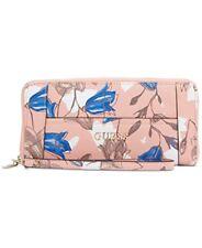 GUESS Womens Delaney Large Zip Around Floral Multi Large Handbag CF453546