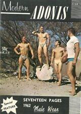 Adonis No.19 Male Wear by Joe Weider British Edition Vintage Gay Magazine