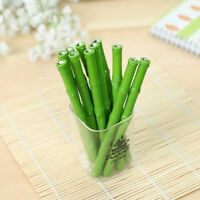 Creative Green Bamboo 0.5mm Gel Pen Student Stationery Writing Pens Office Gift