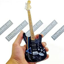 Mini Guitar scale 1:4 PINK FLOYD David Gilmour dark side miniature collectible