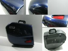 Koffer Seitenkoffer links Left Case blau Triumph Trophy 1200 SE, V13VH, 12-17
