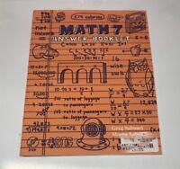 Teaching Textbooks Math 7 Answer Booklet