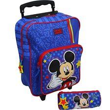 Disney Mickey Mouse Trolley Koffer Kinderkoffer Rucksack Reisekoffer 2 tlg Set