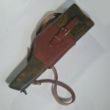 Repro WW2 German Mauser Wood Holster Stock C96  Cuoic Broomhandle