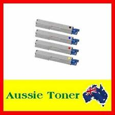 4x Toner Cartridge for OKI laser printer C110 C130 C130n MC160n COMPATIBLE