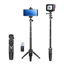 Selfie Stick Tripod Extendable 40 Inch Bluetooth Remote Shutter 360 Rotation NEW