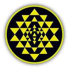 """Battlestar Galactica Yellow Car Bumper Window Sticker Decal 4.6""""X4.6"""""""