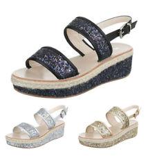 Markenlose Damen-Sandalen & -Badeschuhe aus Synthetik Plateau