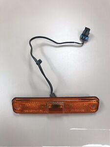 03-09 Hummer H2 Left/Right FRONT Orange Side Marker Light 15114677