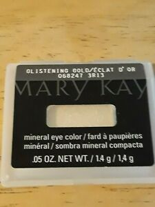 Mary Kay Mineral Eye Color -GLISTENING GOLD  ***Discontinued***   New!