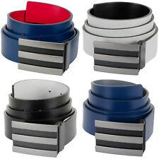 Adidas 2018 3-Stripes Reversible Leather Adjustable Golf Belt