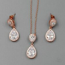 Rose Gold Plated Fashion Jewelry Sets eBay