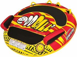 Airhead Oddball Inflatable Towable Tube Red/Yellow
