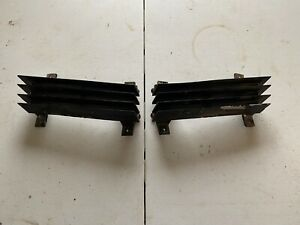 80 81 82 corvette parking/turn signal lights with grilles used original set