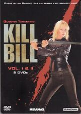 Kill Bill 1 & 2 , limited Steelbook , uncut , english and german audio , NEW