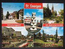 Postkarte Gelaufen 7742 St. Georgen Deutschland 🇩🇪 Baden-Wuerttemberg