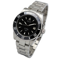 Aquacy 1769 Hei Matau Men's Automatic 300M Black Dive Watch ETA SWISS MOVEMENT