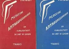 DOCTEUR VICTOR BOTT: MEDECINE ANTHROPOSOPHIQUE TOMES 1 & 2. 1972-1976.
