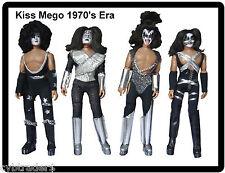 Kiss Mego Dolls Refrigerator / Tool Box / Locker  Magnet Gift Card Insert