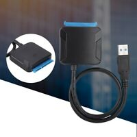 """USB 3.0 to 2.5""""/3.5"""" SATA III Hard Drive Adapter Cable Converter For Laptop PC"""