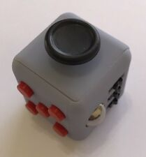 FIDGET CUBE/GADGET Stress Anxiety Relief Focus ADHD AutismTherapy Gray/Black/Red