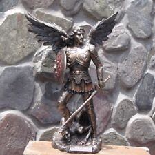 Archangel Michael Stepping on Demon ~ Veronese Collection, 23cm Bronzed Statue