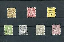 Schweiz - Nr.82 - 86  o - KW 120,-- € ( 13835 )