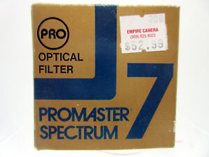New 49mm Promaster Spectrum 7 # 85B Color Conversion Glass Filter Made in Japan