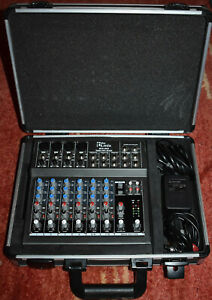 t.mix 802 8-kanal analoges Mischpult
