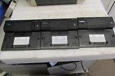 Lot of 3: Dell Pro3X Laptop Docking Station Port Replicator