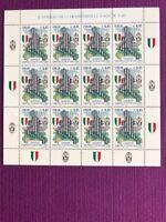 REPUBBLICA 2005  MINIFOGLIETTO JUVENTUS CAMPIONE D'ITALIA NUOVO MNH**